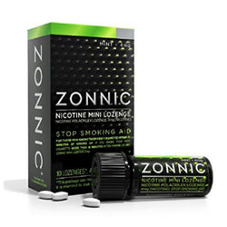 Zonnic Stop Smoking Nicotine Lozenges 4mg Mint