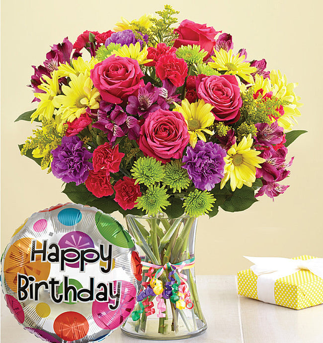 It's Your Day Bouquet Happy Birthday