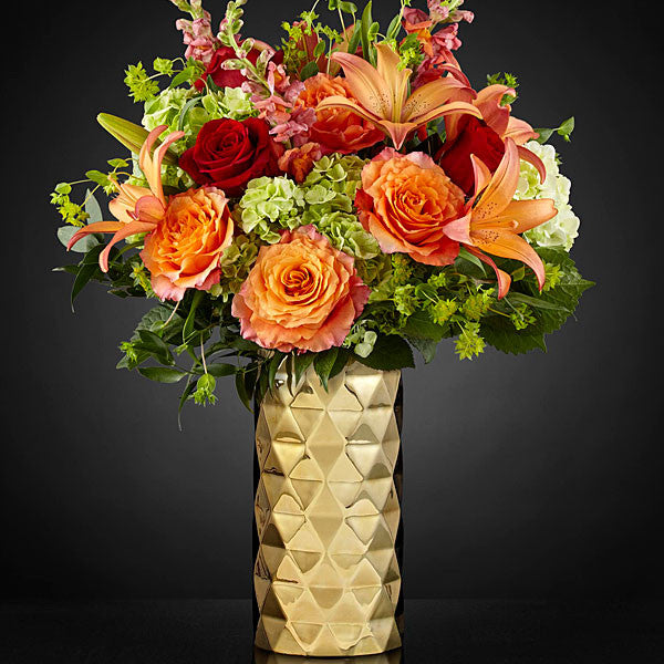 Glow of Gratitude Luxury Bouquet