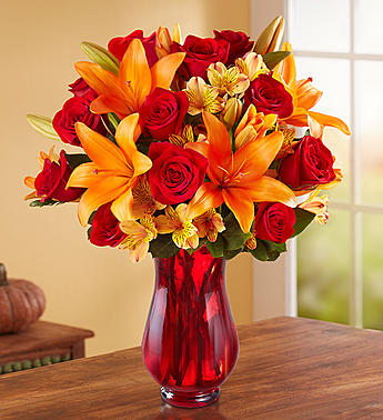 Red Autumn Bouquet