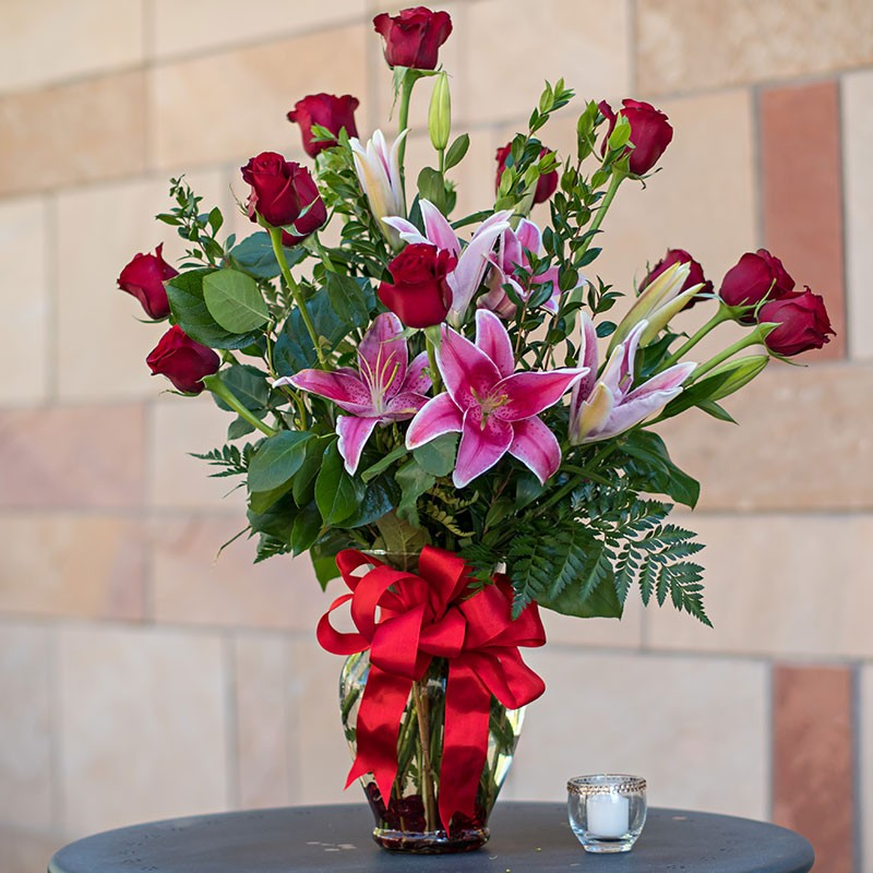 Romantic Roses & Lovely Lilies