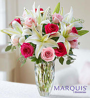 The Rose and Lily Bouquet Showing as Premium
