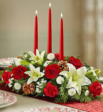 Traditional Christmas Centerpiece Showing--$69.99
