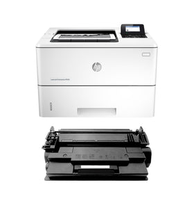 HP M506n LaserJet Enterprise Printer and 1 OEM MICR Cartridge