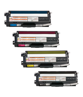 Brother TN-310 Compatible Color Toner Set CMYK (4-pack)