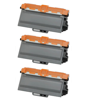 Brother TN-750 Compatible High Yield Toner Cartridge (3-pack)