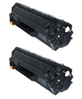 HP 85A/ CE285A Compatible Toner Cartridge, (CE285D) (2-pack)