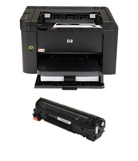 HP P1606DN MICR Printer Package: 1 MICR Toner Cartridge