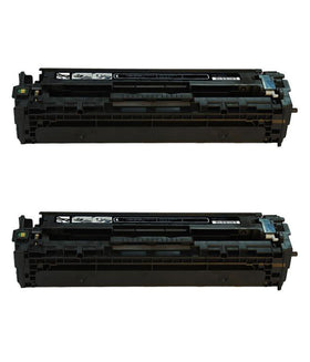 HP 304A/ CC530A Compatible Black Toner Cartridge (2-Pack)