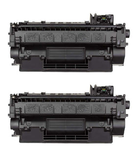 HP 05A/ CE505A Compatible Toner Cartridge (2-pack)