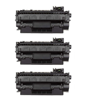 HP 05A/ CE505A Compatible Toner Cartridge (3-pack)