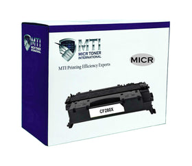 MTI 80X Compatible HP CF280X MICR Toner Cartridge