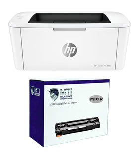 HP M15w LaserJet Pro Printer and 1 CF248A MTI MICR Cartridge