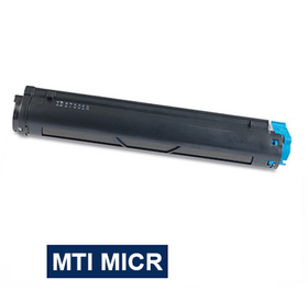 MICR Toner International Compatible Magnetic Ink Cartridge Replacement for Okidata 43502301 B4400 B4500 B4550 B4600
