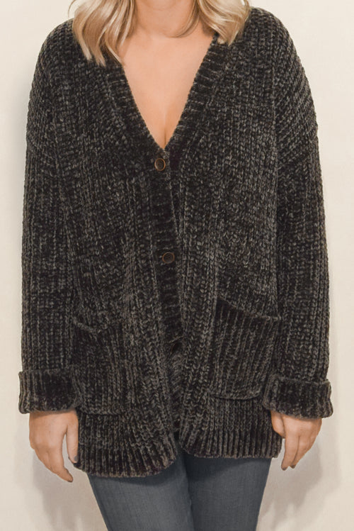 Celine Sweater in Charcoal