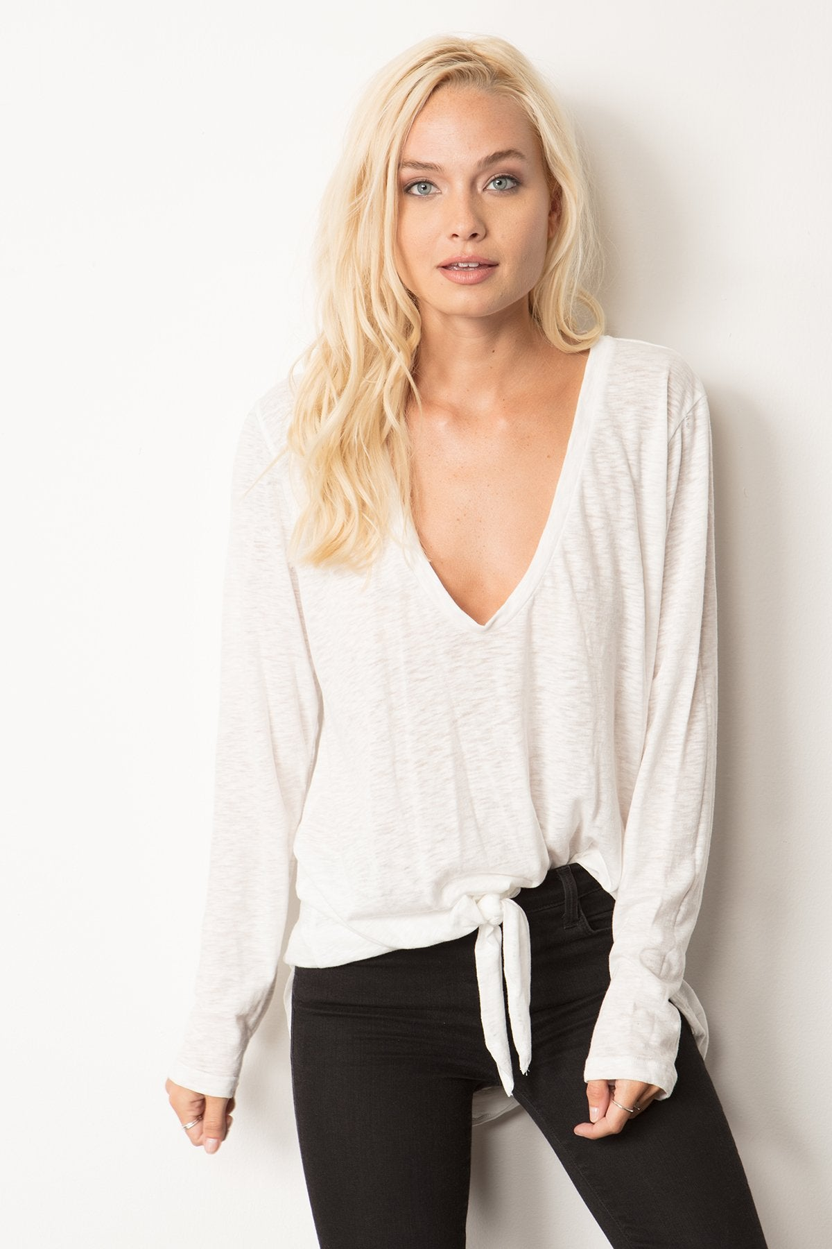 Tie Me Up Maxi Tee - Marly Rae