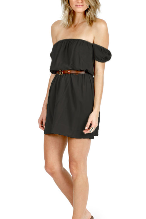 Bri Dress in Black - Marly Rae