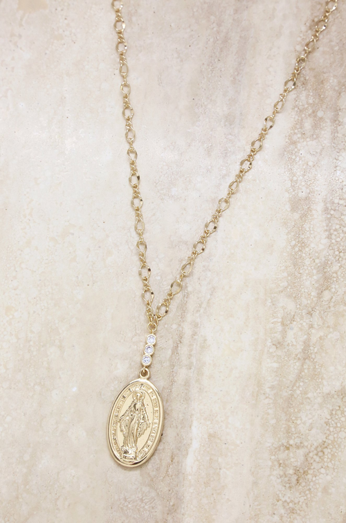 Holy Coin Necklace - House of Nima