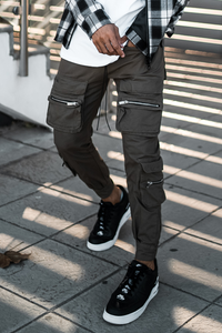 Deception Army Green Utility Cargos