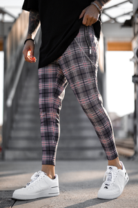 Cruz Plaid Trousers