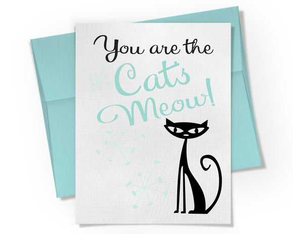 Card - You are the Cats Meow