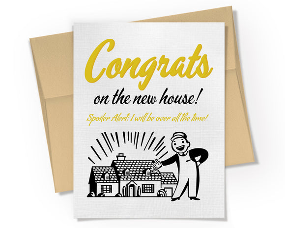 Card - Congrats on the New House