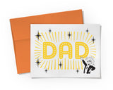 Card - DAD in Lights Card