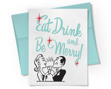Card - Eat Drink and Be Merry Card.
