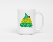 Mug - Buddy the Elf. Large 15 oz Size Coffee Mug.