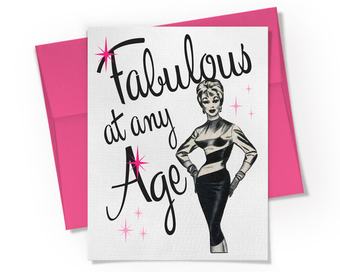 Card - Fabulous at any Age!