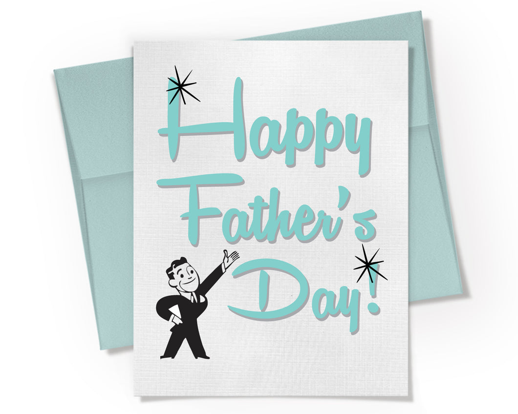 Card - Happy Fathers Day Card.