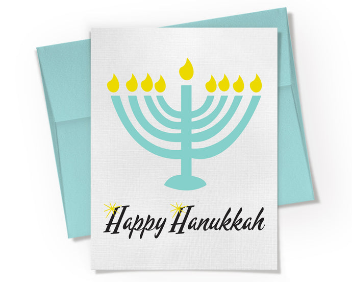 Card - Happy Hanukkah Card