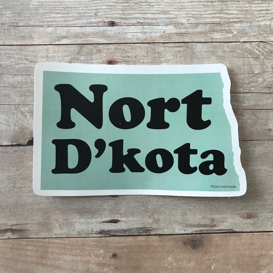 Sticker - Nort D'kota Sticker