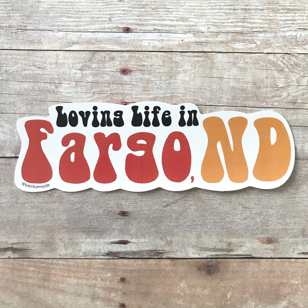 Sticker - Loving Life in Your City Sticker