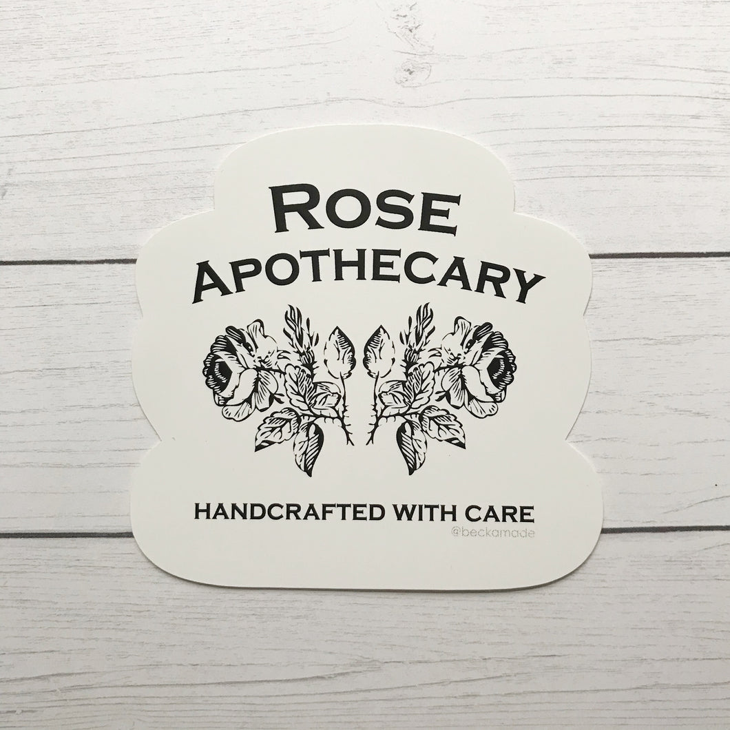 Sticker - Rose Apothecary Sticker