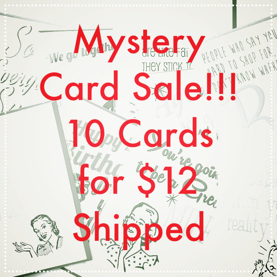 Mystery Pack of 10 Greeting Cards