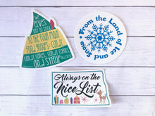 Sticker Pack - North Dakota Christmas Set of 3