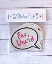 Sticker Pack - Schitt's Creek Set of 3