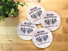 Coaster - Rose Apothecary - Set of 4