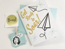 Get Ready to Soar Graduation Card. High School or College Grad Card.