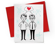 Card - Gay Couple in Love Card.