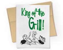 Card - King of the Grill Card.