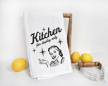 Towel - Kitchen for Display Only Screenprint Tea Towel.