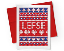 Card - Lefse Sweater Card