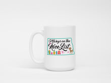 Mug - Retro - North Dakota Always on the Nice List