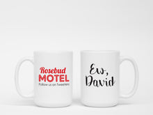 Mug - Rosebud Motel Ew, David 15 oz Ceramic Mug