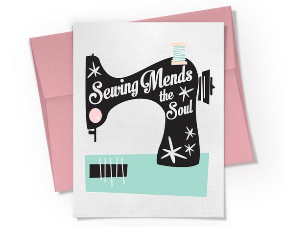 Card - Sewing Mends the Soul