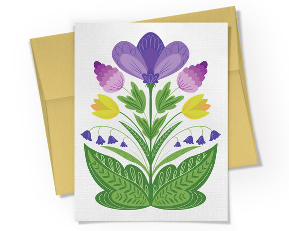Card - Spring Bouquet