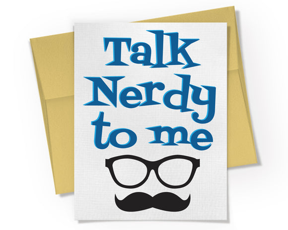 Card - Talk Nerdy to Me