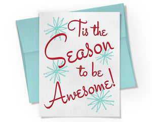 Card - Tis the Season to be Awesome